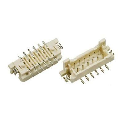 10 x Hirose DF11 Series, 2mm Pitch 24 Way 2 Row Shrouded Straight PCB Header