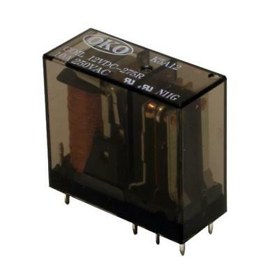 Contact Rating 10A 8 Pin Octal Base Relay SPDT 6VAC 6V Coil