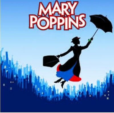 Mary Poppins Audio Books 6 Stories on 2 x MP 3 CD's talking books