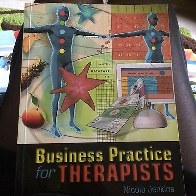 Businesses Practice For Therapists By Nicola Jenkins - Paperback