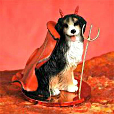 Bernese Mountain Dog Devil Holiday Ornament Tiny Ones Statue Figurine NEW