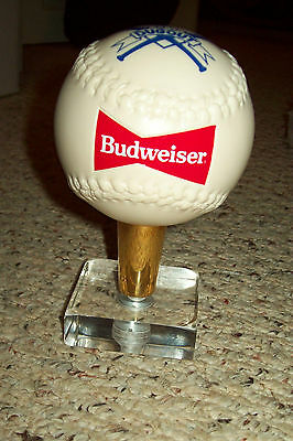 Budweiser Softball Dugout Figural Tap Handle - New No Box