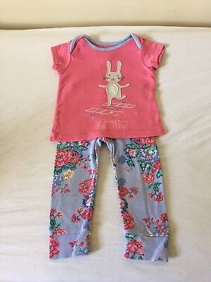 girls joules 12-18 months T-shirt and leggings