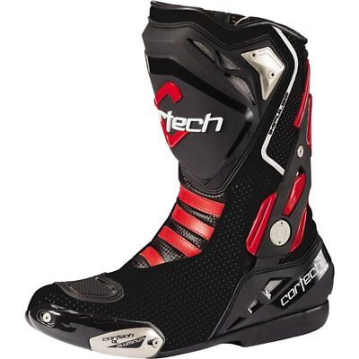 Cortech Impulse Air Road Race Vented Boots Motorcycle Race Boots
