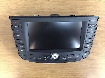 07 08 Acura Tl 3.2L Tested Navigation Display Screen 39050-Sep-A3 Oem Warranty