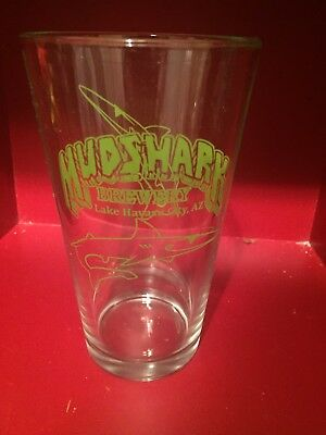 Mudshark Brewery Pint Beer Glass - Lake Havasu City, Arizona - Excellent