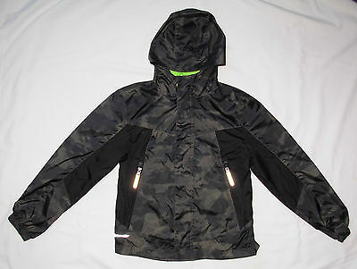 Champion Hooded Lightweight Jacket Boys Size S / 6-7 Camouflage VentureDry