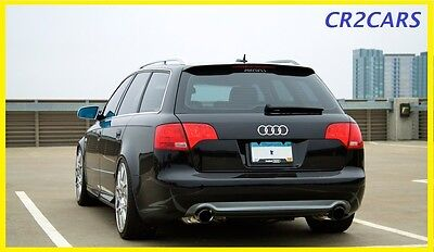 Audi A4 B7 Estate S-Line Rear/roof Spoiler (2005-2007)