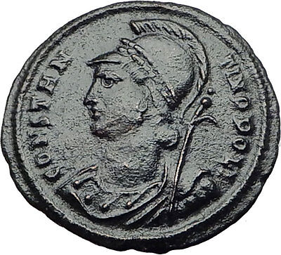 CONSTANTINE the Great Founds new Roman Capital CONSTANTINOPLE 330AD Coin i63267