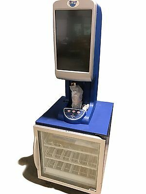 Used F'Real Frozen Beverage Blender with Minus Forty Glass Door Freezer