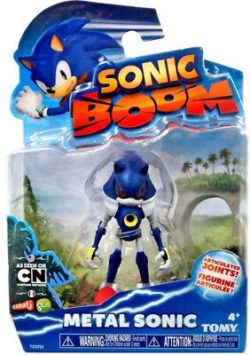 Sonic Boom 3 Inch Plastic Figure Toy- Metal Sonic