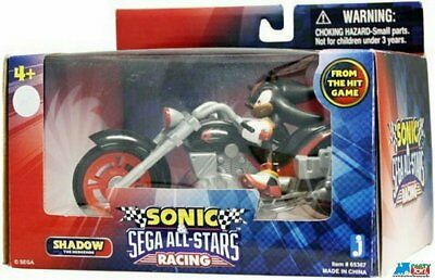 Sonic Sega All Stars Racing Vehicle With 3.5 Inch Figure Shadow With Dark Rider
