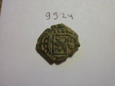 NICE HIGHER GRADE 1584 PIRATE COIN. GREAT DETAILS   (lot#gg24)
