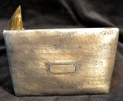 Antique Sterling Silver Card Case, Webster, Antique Accessories