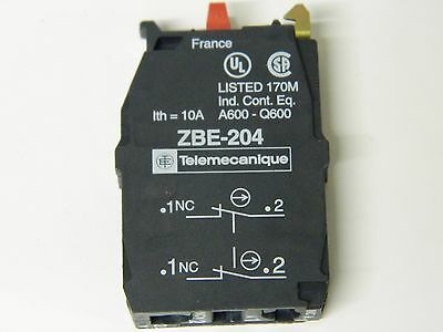 Telemecanique ZBE-204 Two pole N/C contactor