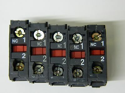 Telemecanique ZBE-102 One pole N/C contactor 5 OFF