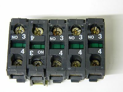 Telemecanique ZBE-101 One pole N/O contactor 5 OFF