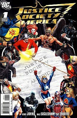 JUSTICE SOCIETY OF AMERICA #1-26 + More! Geoff Johns Complete Run JSA Full Set