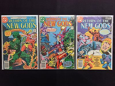 NEW GODS Lot of 3 DC Comic Books - #13 18 19!
