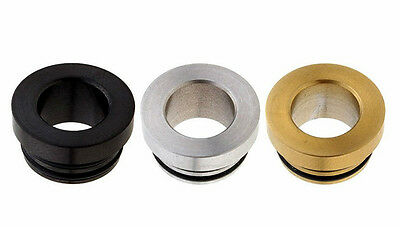 801 - 510 Drip Tip Adapter  - Black/SS/Brass