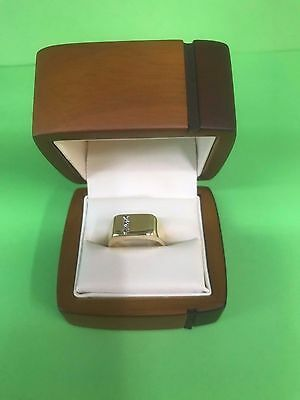 18ct Gold & Diamond Men's Ring
