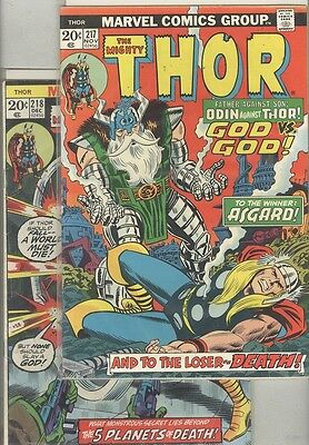 Thor #217, #218, #219, #220, #221, #222, #223, #224, #225 and #226 1st Firelord