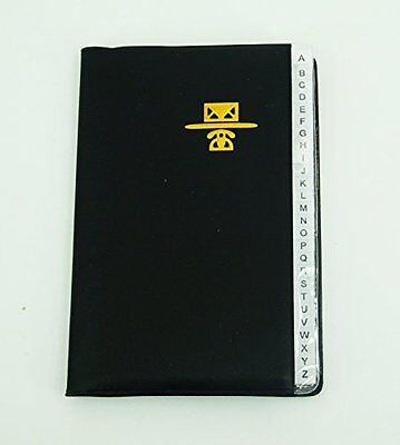 Kamset Personal Phone and Address Book Medium Size 4 inch x 6 inch