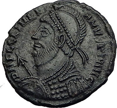 JULIAN II the APOSTATE Philosopher 361AD Authentic Ancient Roman Coin i63293