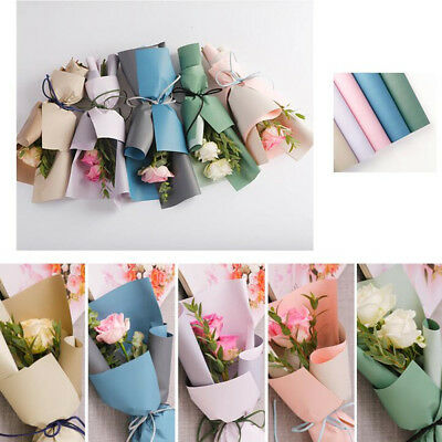 60x60cm Colorful Flower Packaging Paper Gift Bouquet Wrapping Paper Waterproof