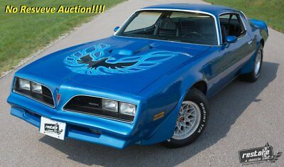 1978 Pontiac Trans Am  1978 Trans AM, PHS, WS6, Martinique Blue, 400 Auto, Rust-free