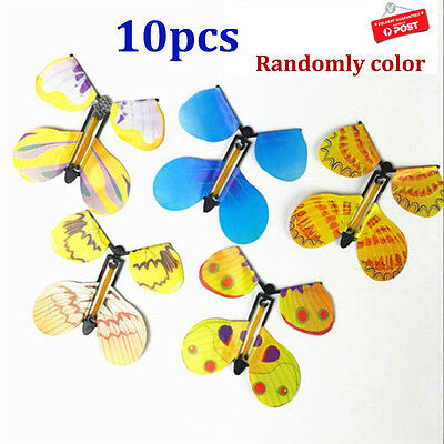 10X Magic Flying Butterfly Birthday Anniversary Wedding Greeting Card Gift Toy E