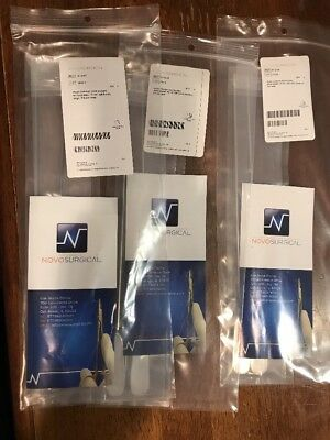 Novo Surgical Mayo Common Duct Scoops Brand New 6 Total