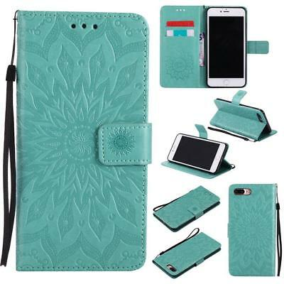 Luxury Pattern Leather Flip Card Coin Wallet Phone Case Cover for iPhone 5 5s SE