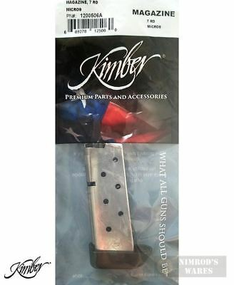 Kimber MICRO 9 9mm 7 Round MAGAZINE 1200506A Factory NEW *FAST SHIP*!!