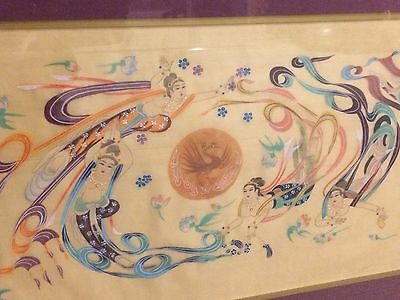 Gorgeous Decorative Framed Chinese Silk Painting!!!