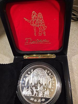 RUSSIA 1995 Sleeping Beauty 1kg Silver, 100 Roubles
