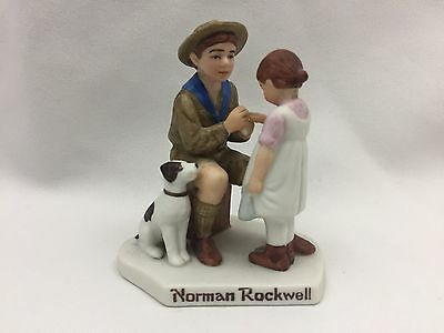 """Vintage 1984 Norman Rockwell Figurine The Young Doctor-Boy Scouts Of America-3"""""""