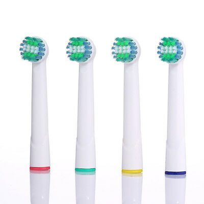 Toothbrush Replacement Soft Heads For Oral-B Braun Professional Teeth Clean 4pcs