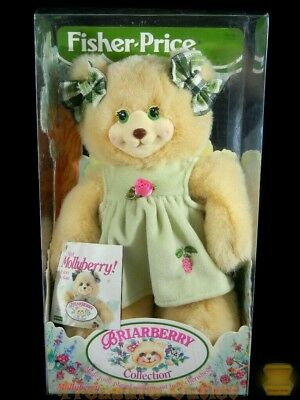 Fisher-Price Stuffed Plush Briarberry Collection Mollyberry Teddy Bear New