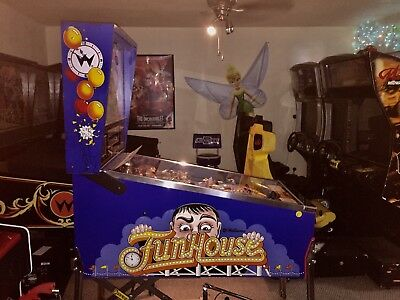 1990 Williams Funhouse pinball - Very Fun collectible for yr Game Room
