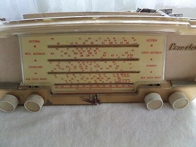 Kriesler radio chassis  1950's / 60s  as is silver aniversary!