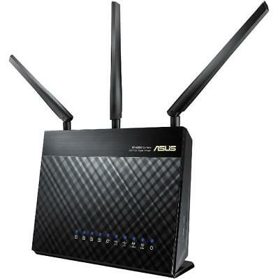 ASUS RT-AC68U AC1900 Dual-Band Wireless Gigabit Router w/Trend Micro Secure WiFi