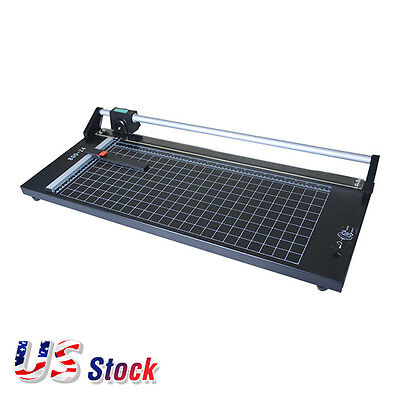 USA - 24 Inch Manual Precision Rotary Paper Trimmer , Sharp Photo Paper Cutter