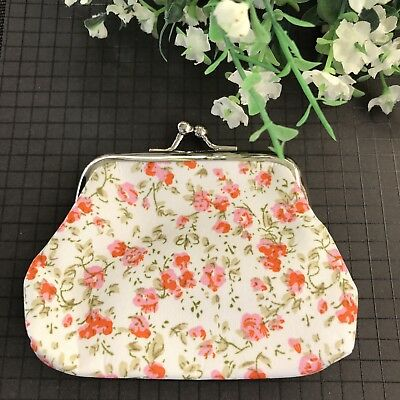 Beautiful Floral Vintage Coin Purse