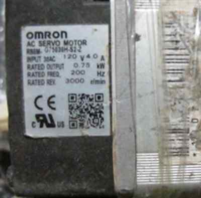 1PC Used Omron R88M-G75030H-S2-Z AC Servo Motor  #RS01