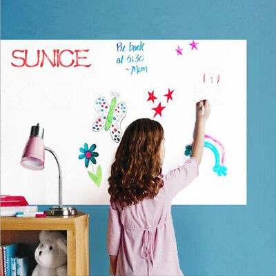 Single Side Adhesive Writing Whiteboard Home Office Dry Erase Board width1m