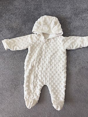 Baby Boy Girl Snowsuit First Size Excellent Condition