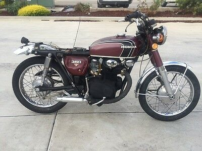 Honda Cb 350 Cb350 03/1972Mdl 16736Kms Clear Title Project Make An Offer