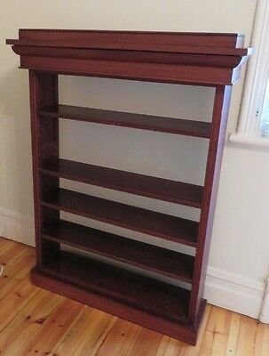 Antique cedar bookcase