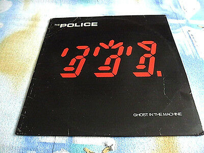 The Police - Ghost in the machine - LP im OIS
